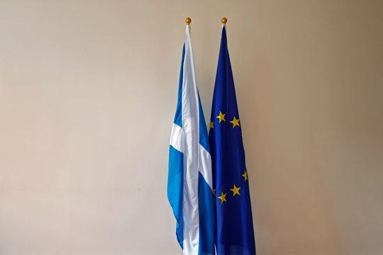 Scotland European Flags